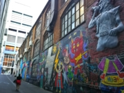 Melbourne city street art tour