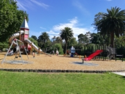 Coburg Lake Reserve playground walk