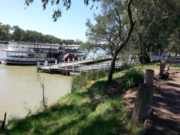 Mildura City to Bridge to Wharf walk
