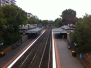 Flinders Street to Jolimont walk