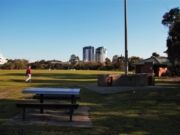Port Melbourne, Beach, Arts in the Park and shopping